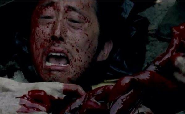 The Walking Dead Season 6 Glenn Death