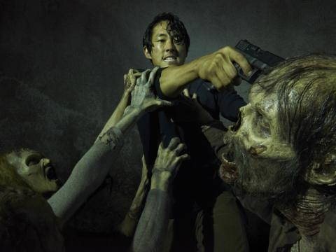 Fake Glenn Death Scene