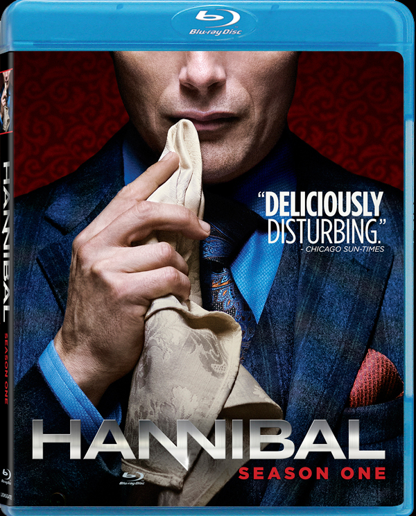 Hannibal Season 1 Blu-ray cover art