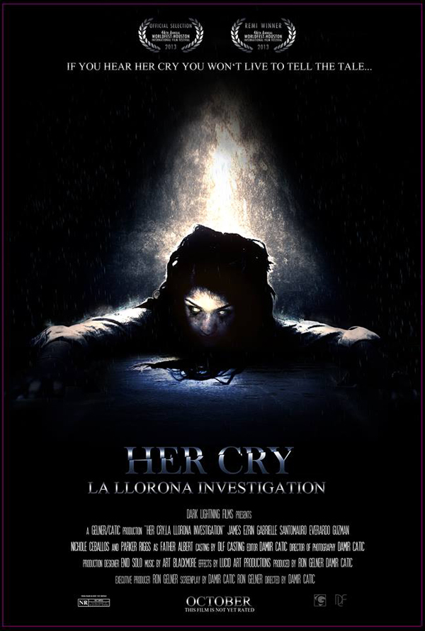 Found Footage Film Her Cry: La Llorona Investigation movie poster