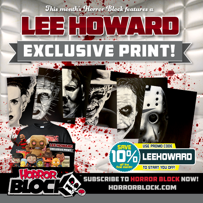 March Horror Block - Lee Howard