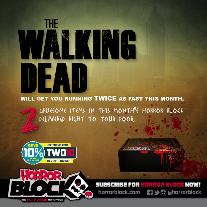 March Horror Block - The Walking Dead
