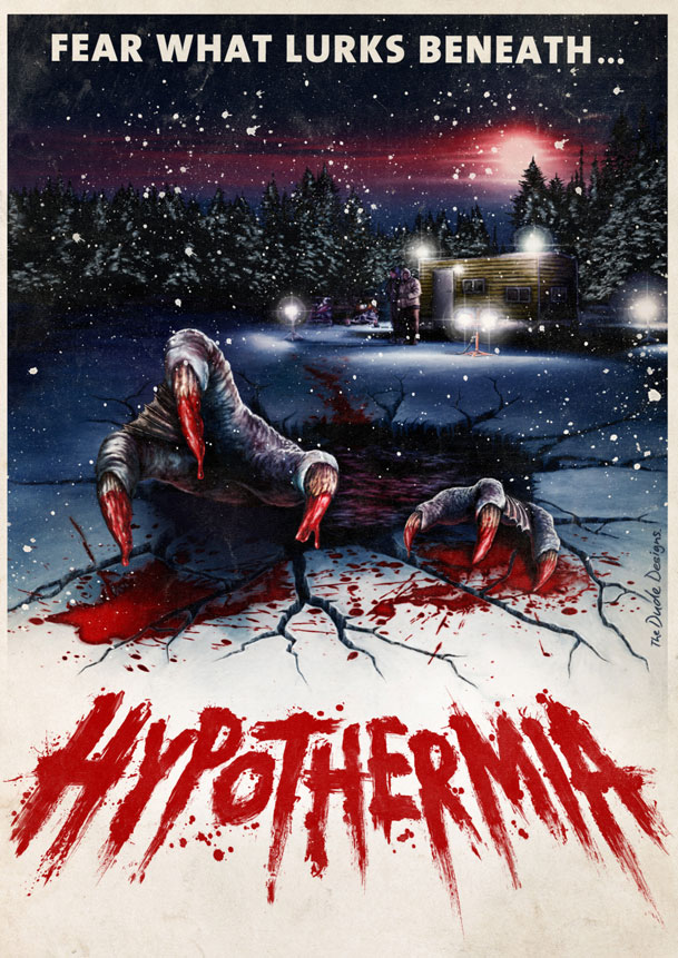 Alternative Art to Hypothermia Horror Movie
