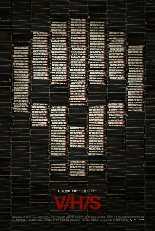V/H/S horror movie poster
