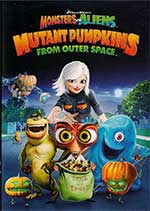 Monsters vs Aliens Killer Pumpkins poster