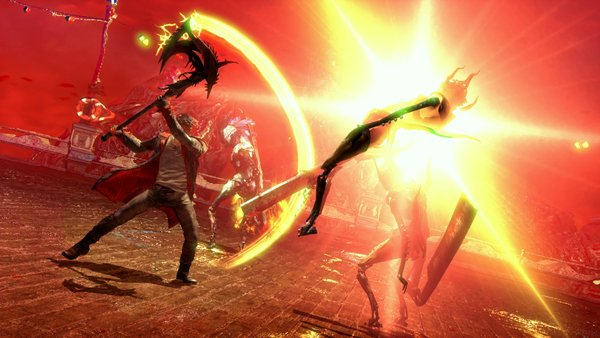 DMC Devil May Cry Bloody Palace Mode Dante stylish combo
