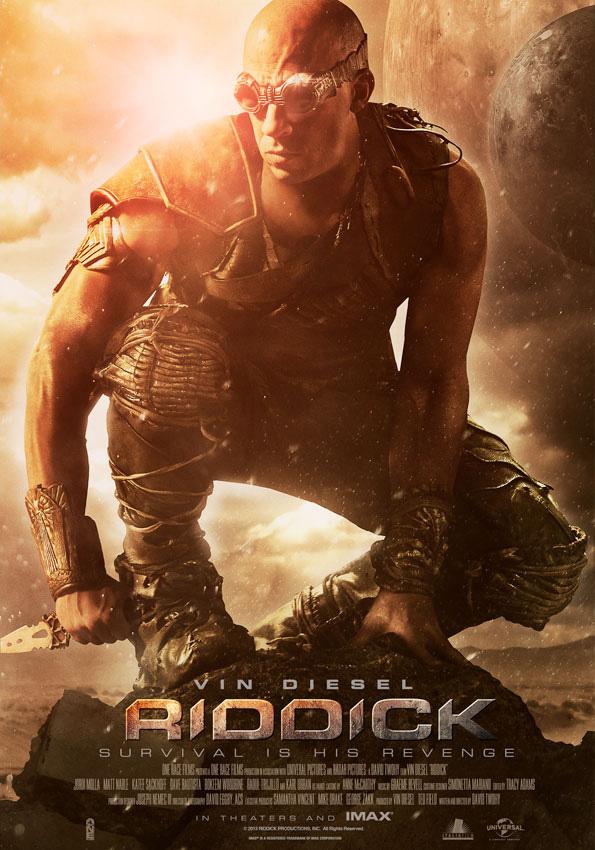 New Vin Diesel Riddick Poster