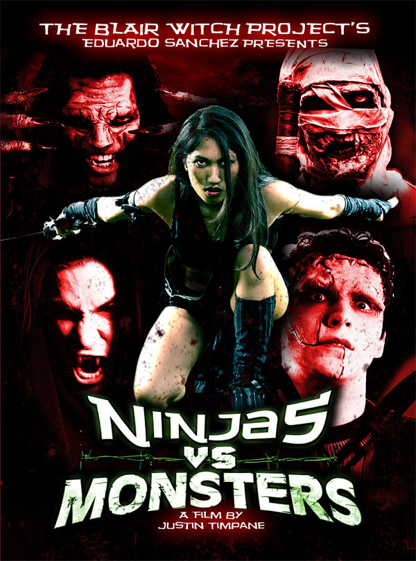 Ninjas vs. Monsters - Movie Poster