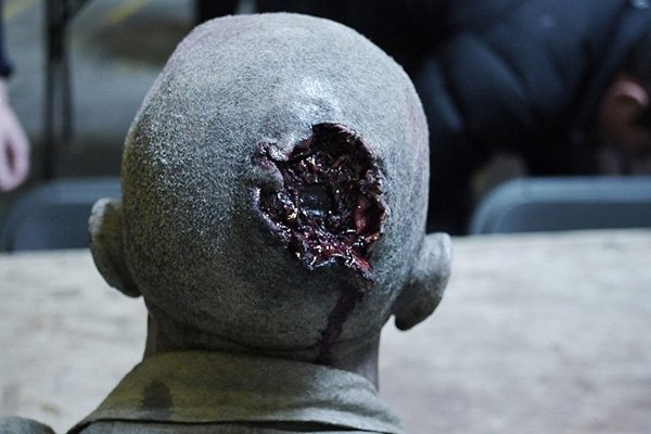 Outpost II Black Sun zombie headshot special fx