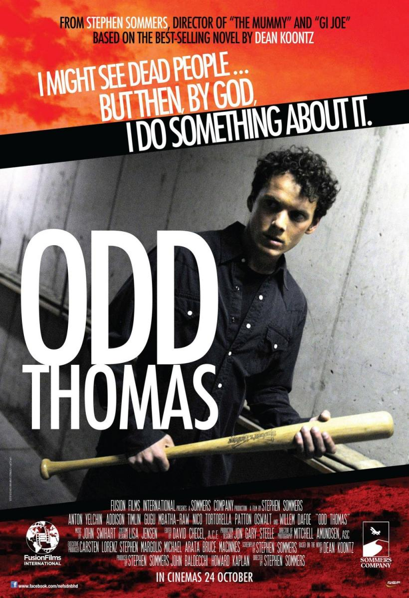 Odd Thomas (2013) movie poster