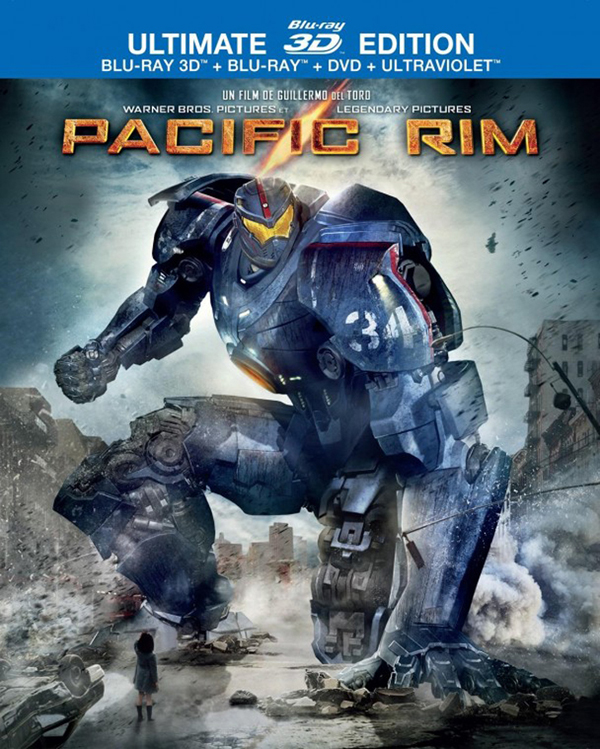 Pacific Rim Blu-ray/DVD Cover Art