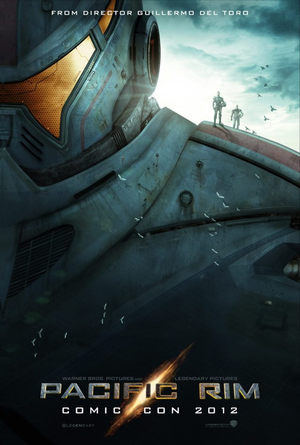 Guillermo Del Toro Pacific Rim Poster