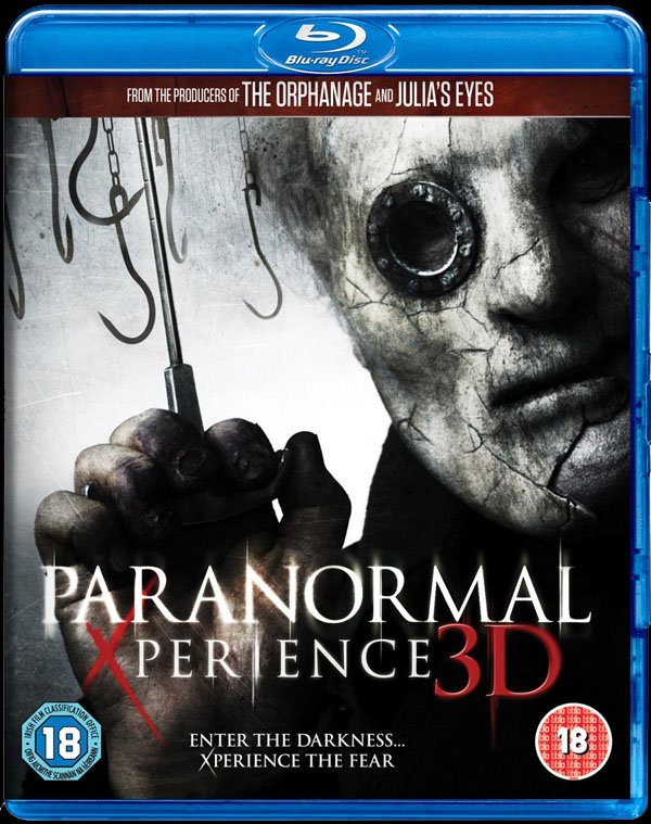 Paranormal Xperience 3D - Blu-ray Cover Art