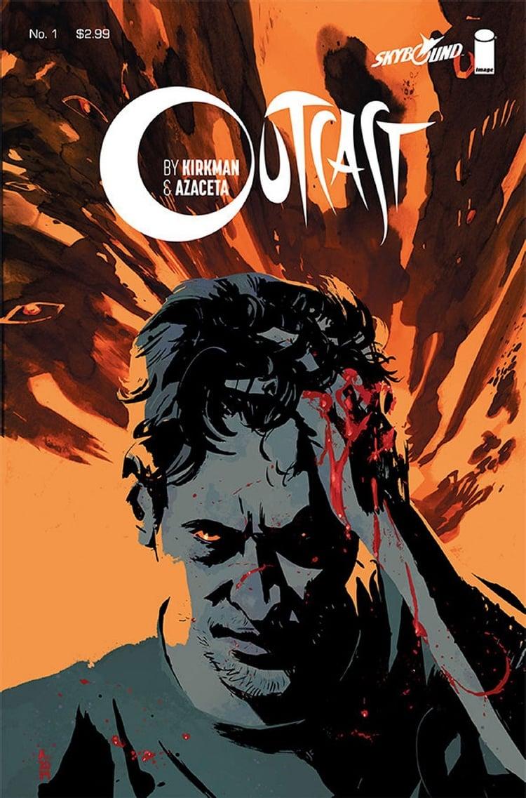 Robert Kirkman Outcast cover art