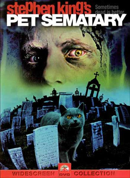 Pet Sematary (1989) DVD art