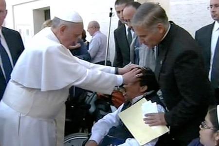 Pope Francis Boy Exorcism
