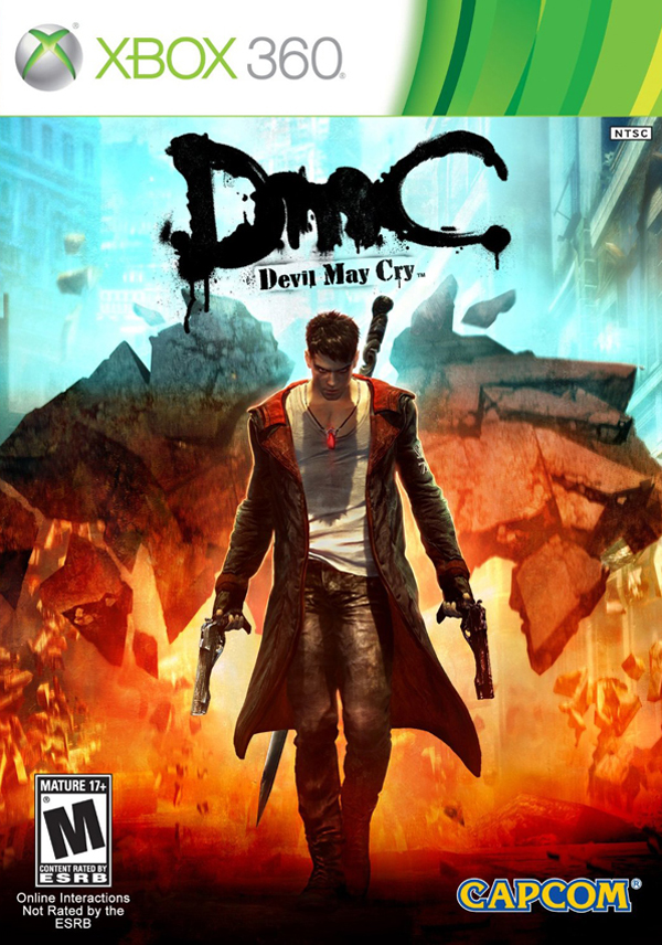 DMC Devil May Cry Bloody Palace Mode Dante Xbox 360 game poster