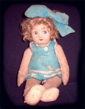 Pupa Haunted Doll
