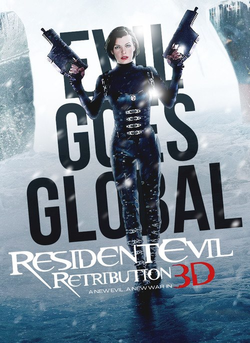 Resident Evil Retribution 3D Evil Goes Global