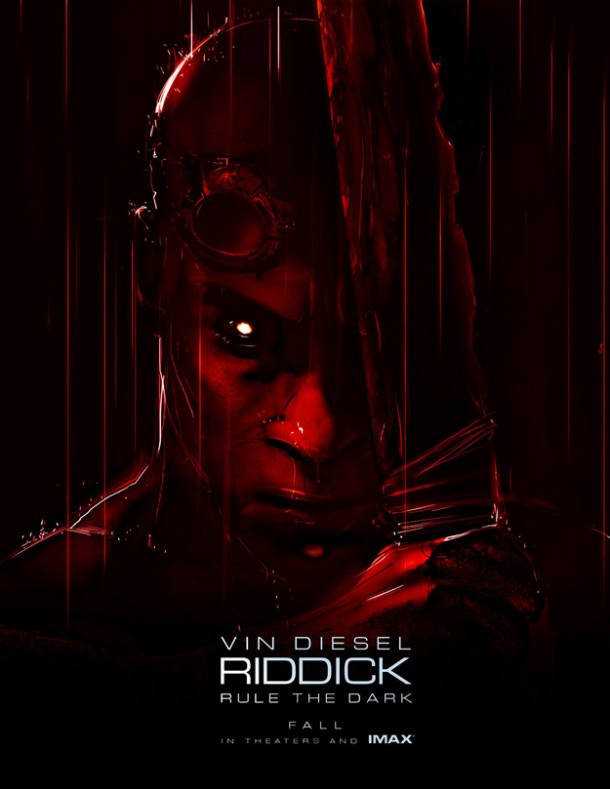 Riddick - Vin Diesel - Rule the Dark Poster - Comic Con
