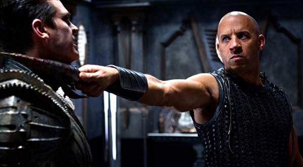 Vin Diesel Riddick Killer Stare Movie Still