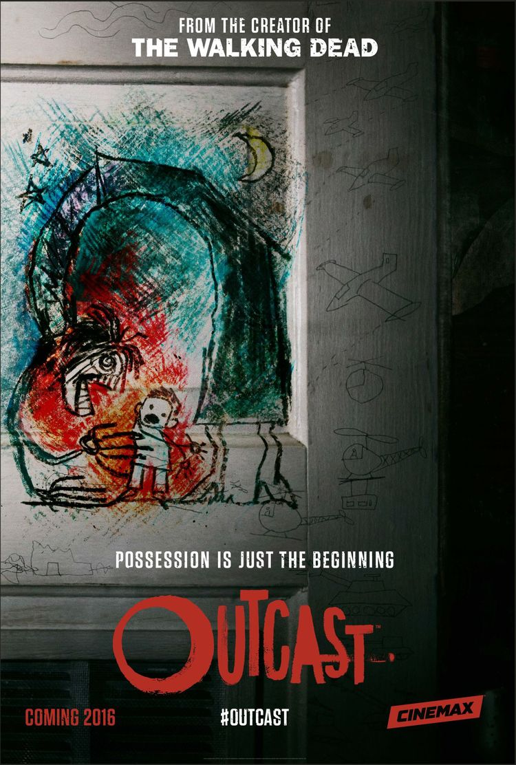Robert Kirkman Outcast TV Series poster
