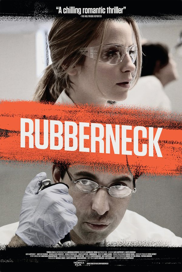 new horror movie rubberneck poster