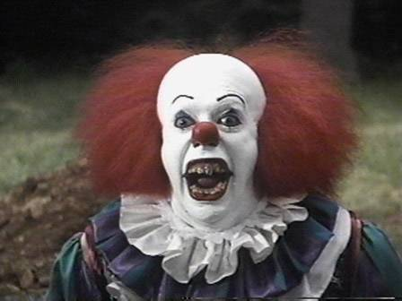Pennywise the Clown - Scary Evil Clown