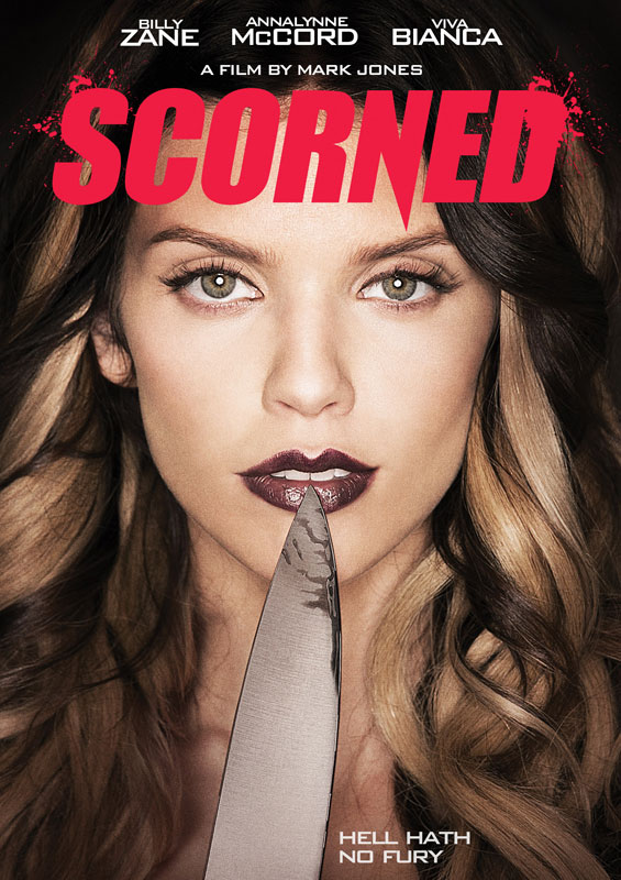 Mark Jones Scorned poster - Billy Zane, AnnaLynne McCord