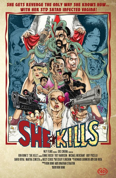 She Kills movie poster