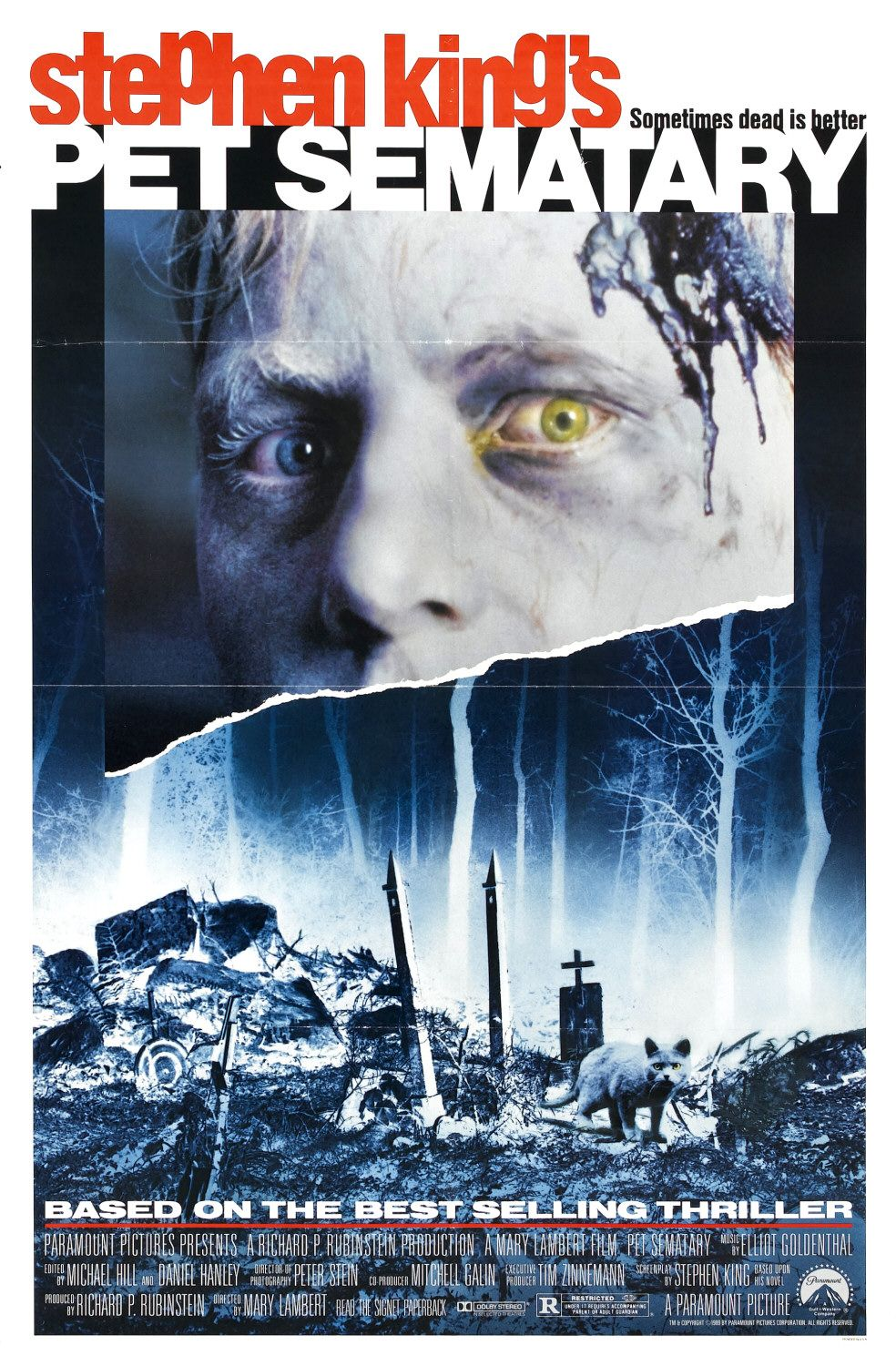 Stephen King Pet Sematary poster