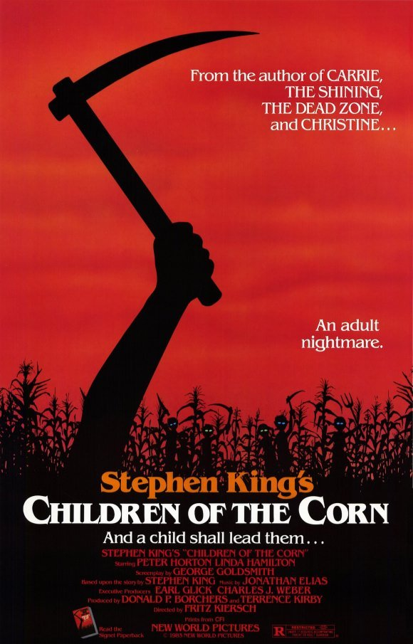 Stephen King Children of the Corn poster