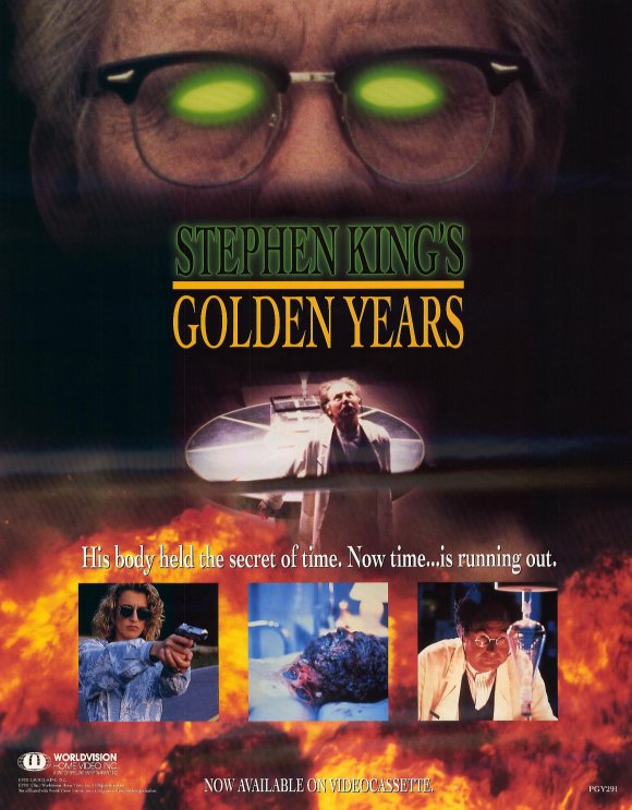 Stephen King Golden Years poster