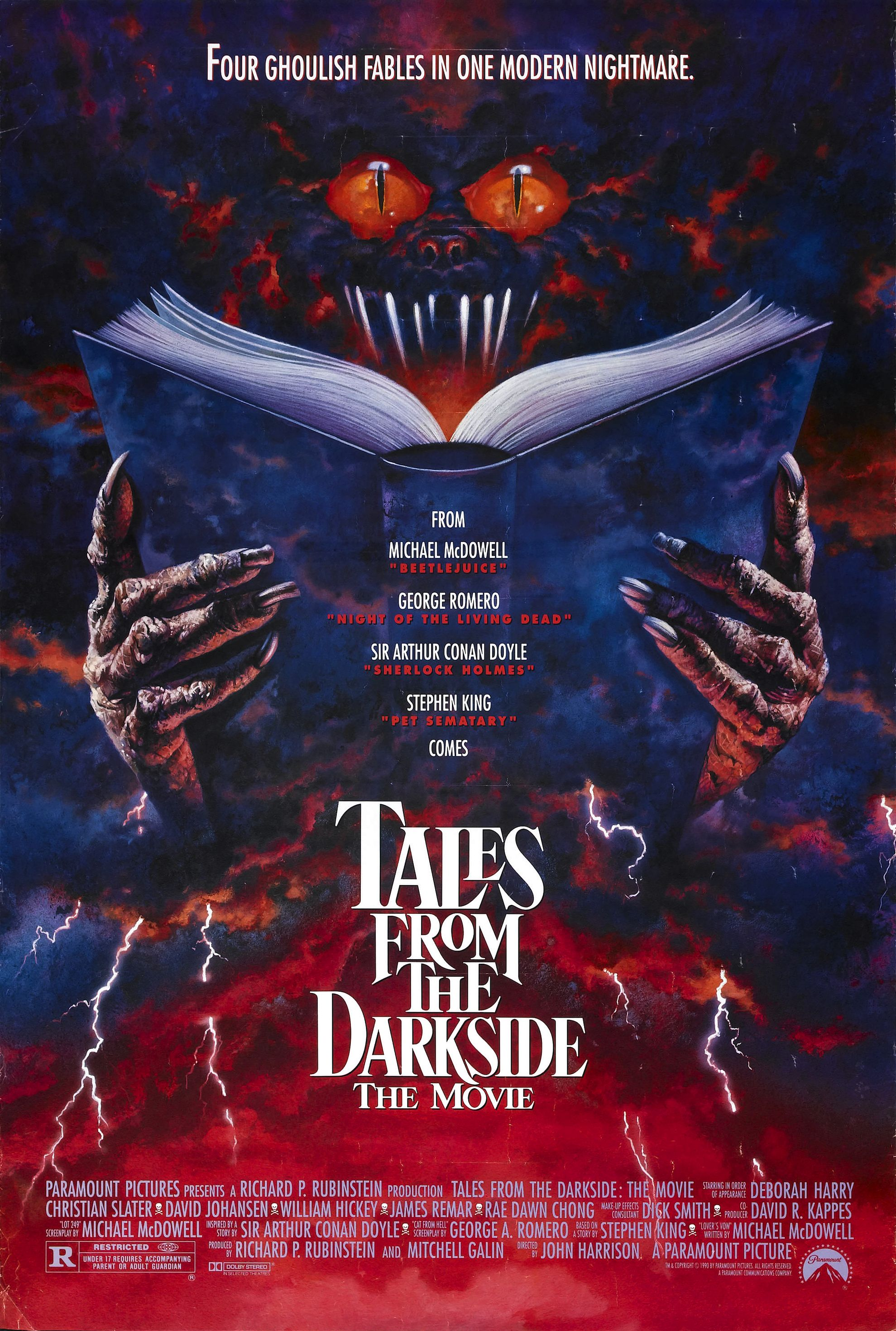 Stephen King Tales From the Darkside: The Movie (1990) poster