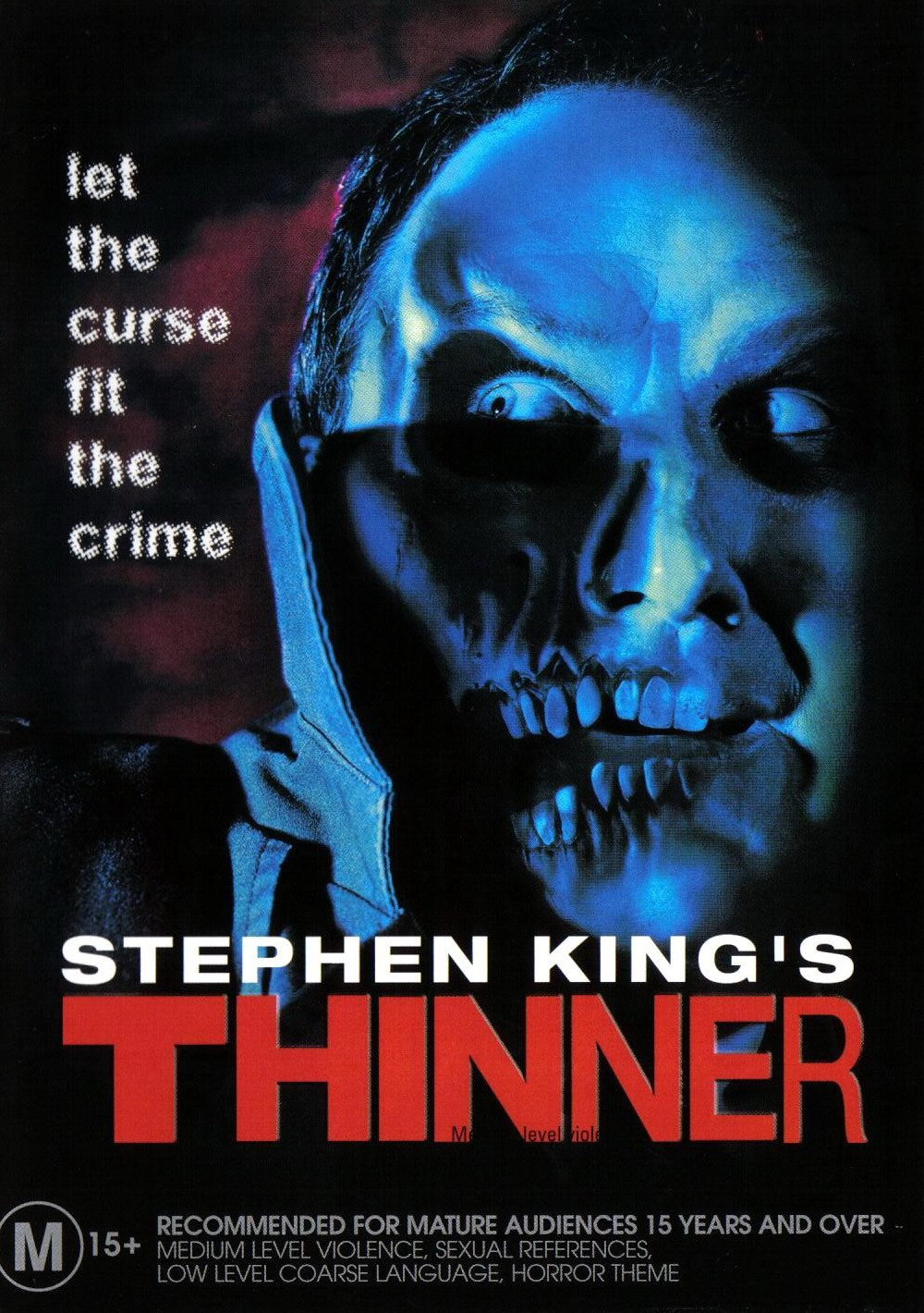 Stephen King Thinner (1996) poster