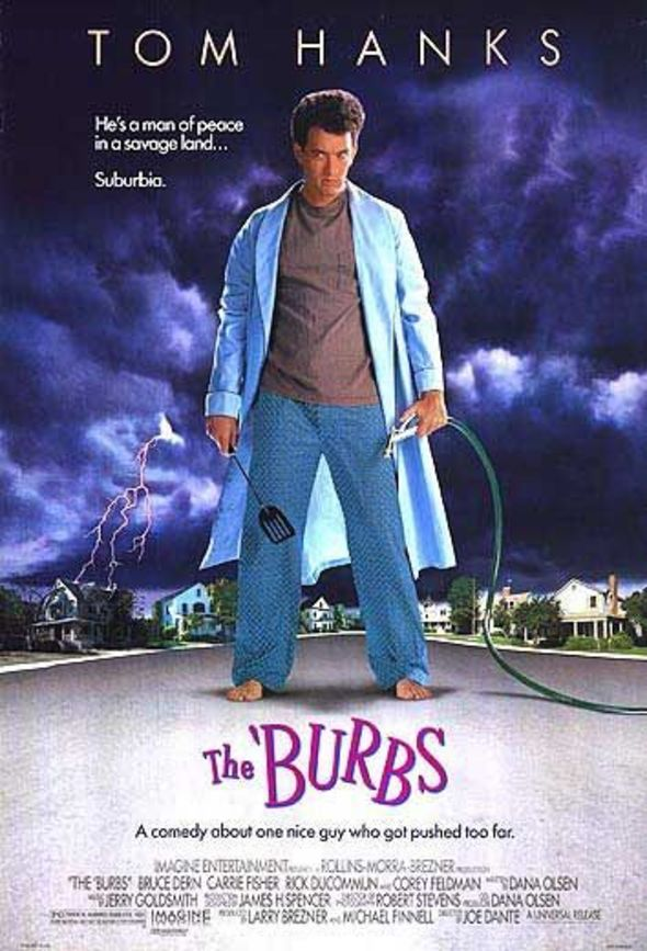 The Burbs (1989) poster