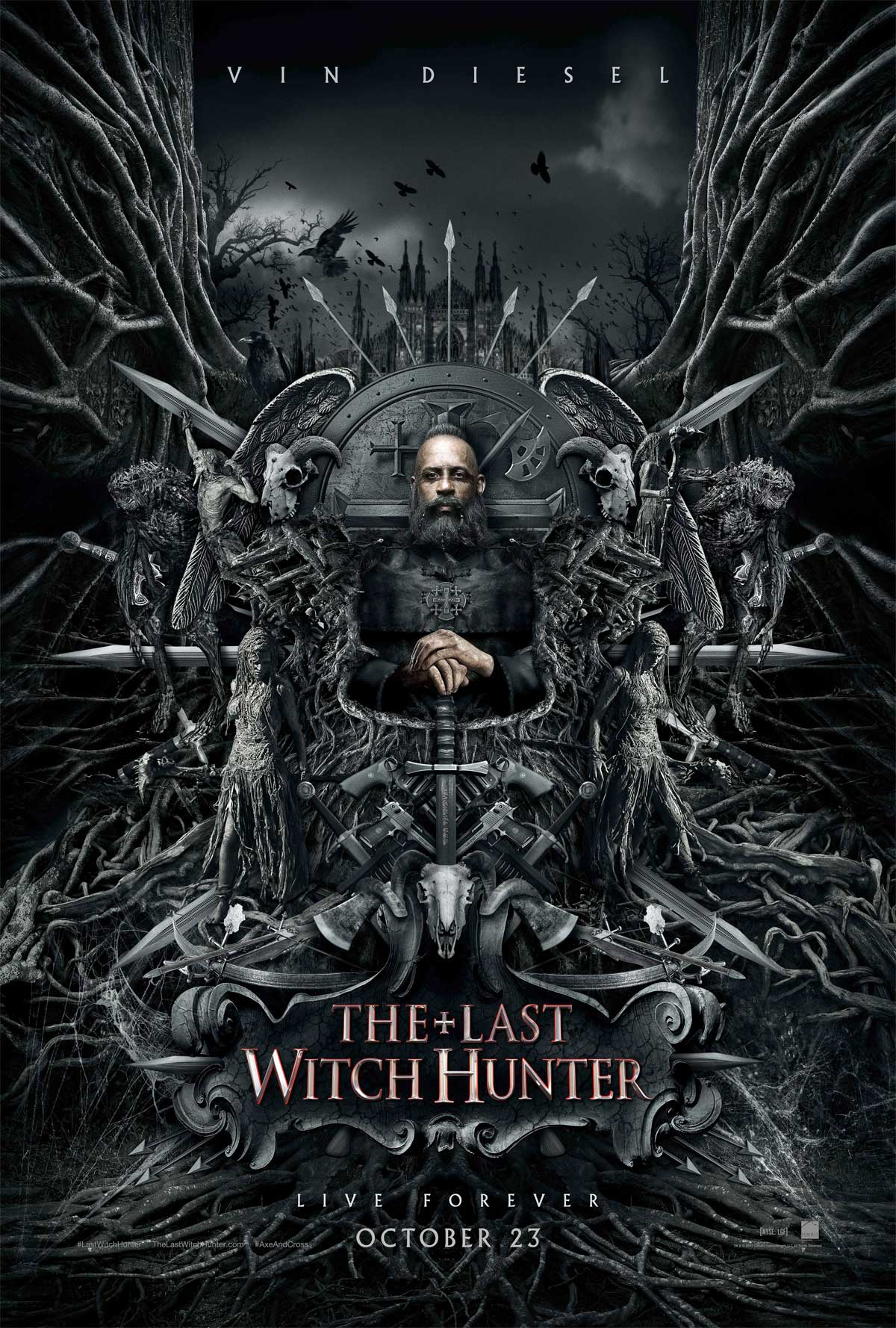 The Last Witch Hunter SDCC poster 1