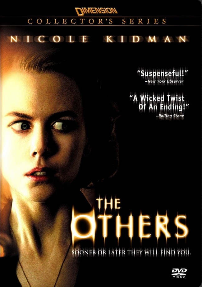 The Others (2001) DVD art