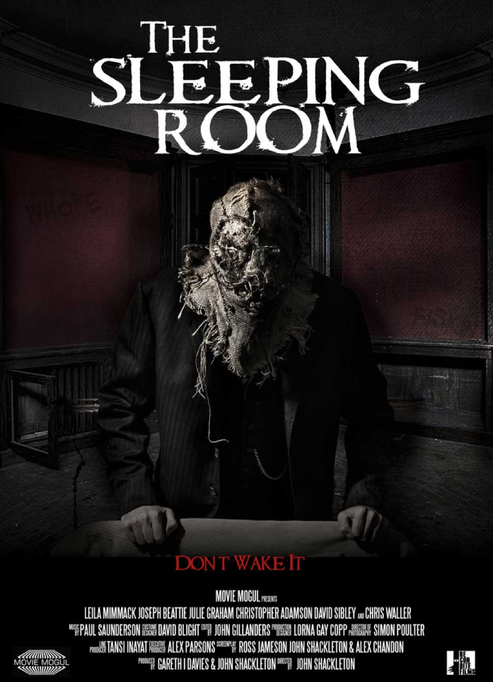 The Sleeping Room 2014 Trailer Poster