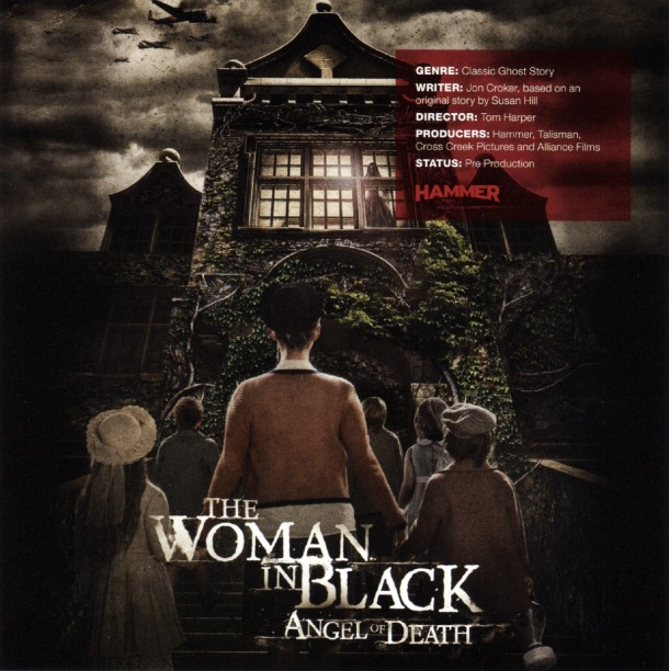 The Woman in Black Angel of Death Promo Art