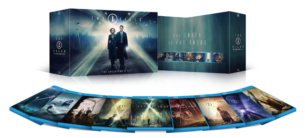 The X-Files Bu-ray collection