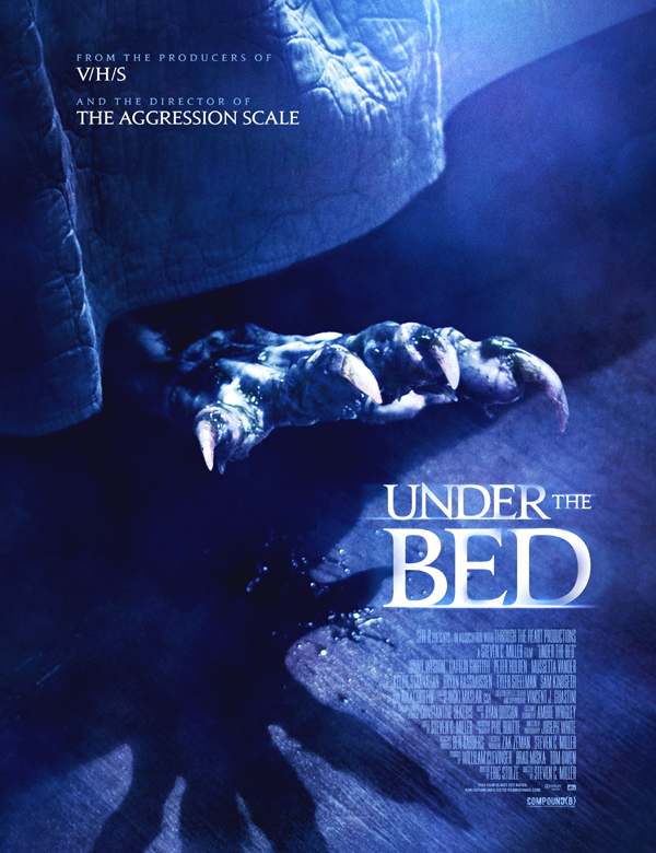 horror movie Under the Bed poster