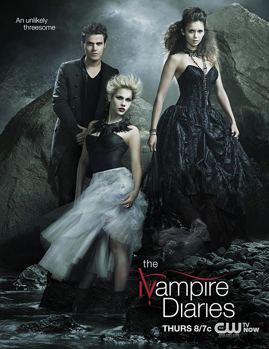 The Vampire Diaries Season 4 New Promo Posters Art - Hell