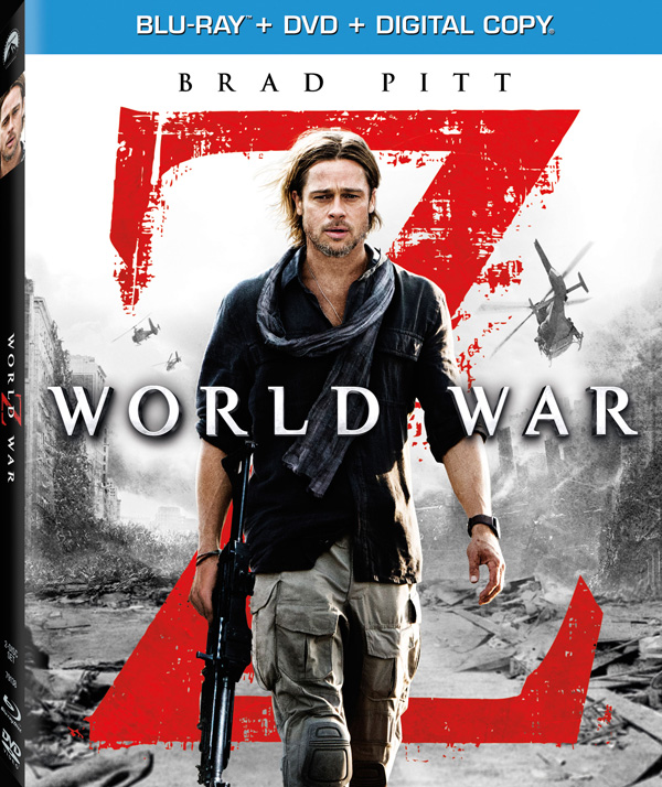 World War Z - Brad Pitt Blu-ray Cover Art