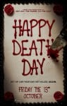 Happy Death Day Movie Poster / Movie Info page