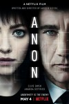 Anon Movie Poster / Movie Info page