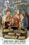 Bud Abbott and Lou Costello Meet the Invisible Man poster