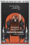 Premature Burial Movie Poster / Movie Info page