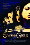 5ive Girls Movie Poster / Movie Info page