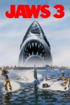 Jaws 3-D Movie Poster / Movie Info page